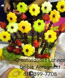 arreglos de fruta y vegetales