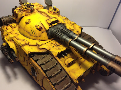 Pre-Heresy Imperial Fists Fellblade