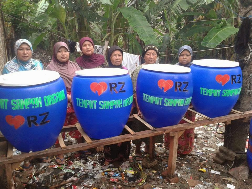 bank sampah RZ