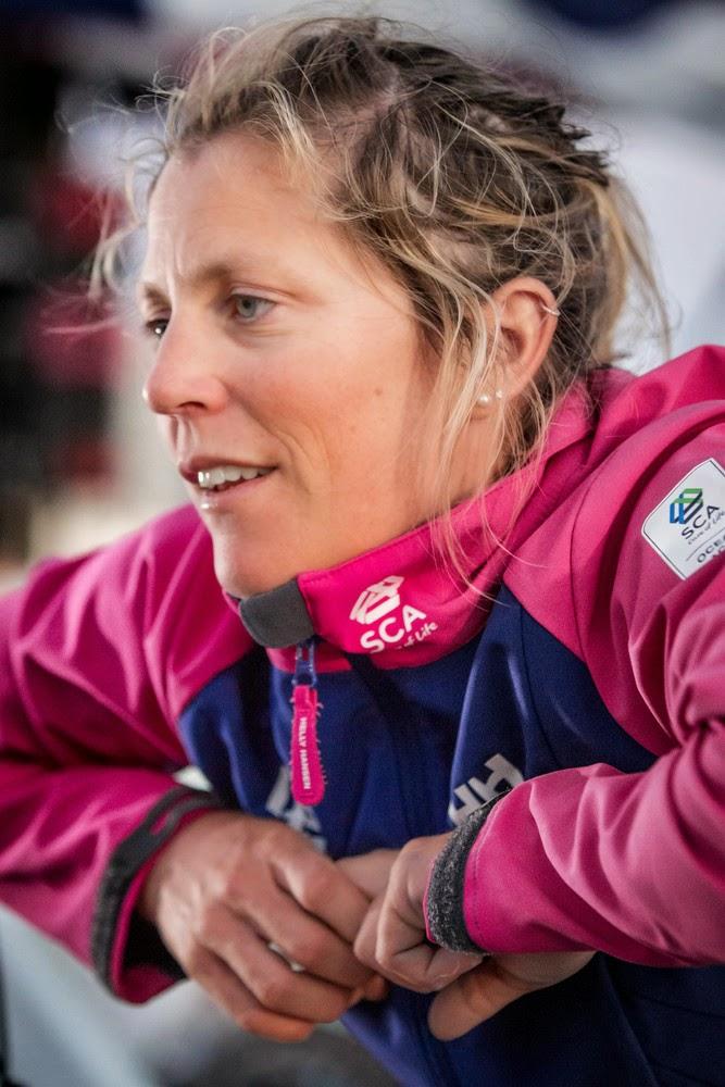 Sam Davies nommée skipper du Team SCA.