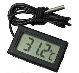 a cheap digital thermometer