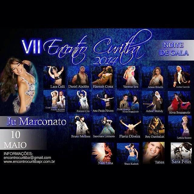 Bailarina noite de gala Encontro Curitiba 2014