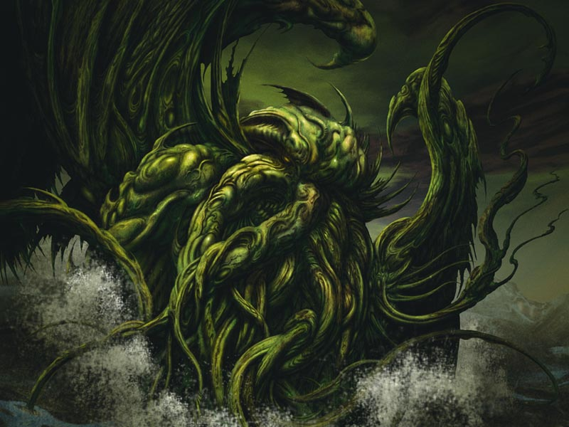 wallpaper fun. Cthulhu Wallpaper Fun