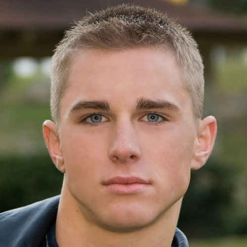 Short Hair Styles: Military haircuts For Men