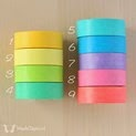 Solid Color Washi Tape - WashiTapesNL