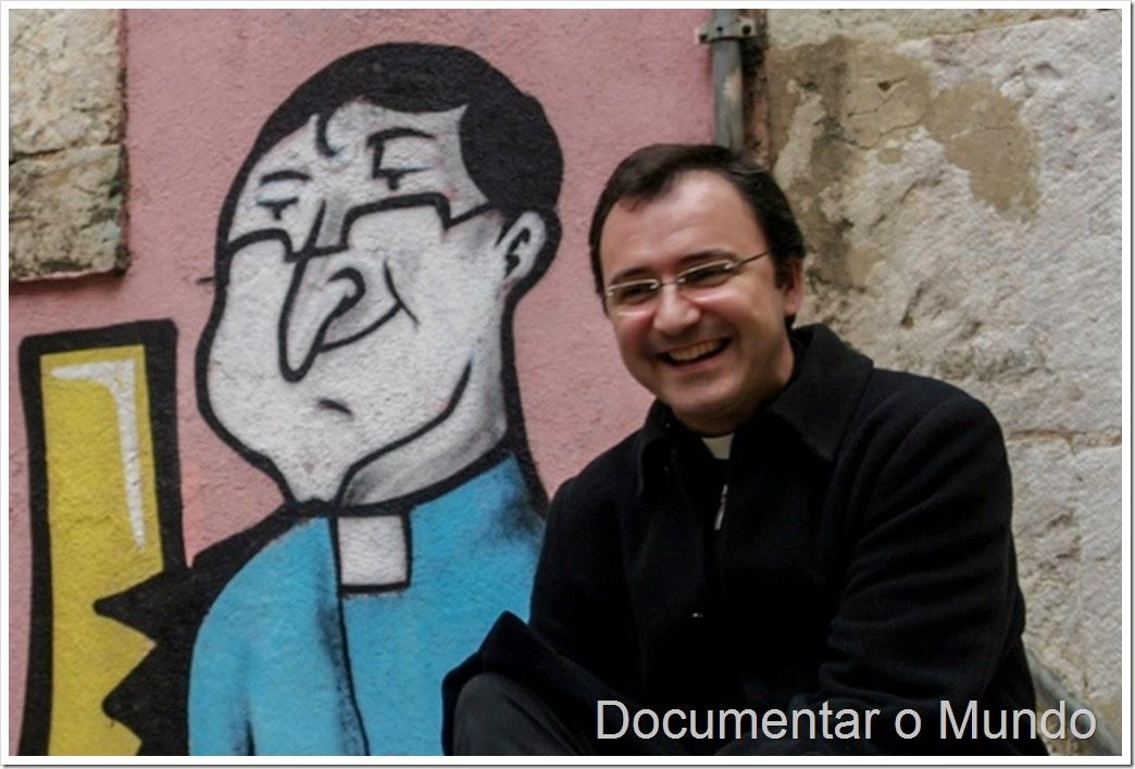Mural nas Escadinhas de São Cristovão