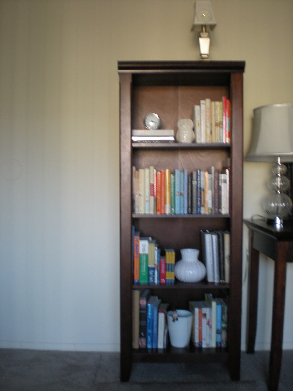 Its The Avington Bookshelf In Dark Tobacco Ive Wanted From Target For Years Now A More Sophisticated Option Than Collegiate IKEA Expedit Unit To