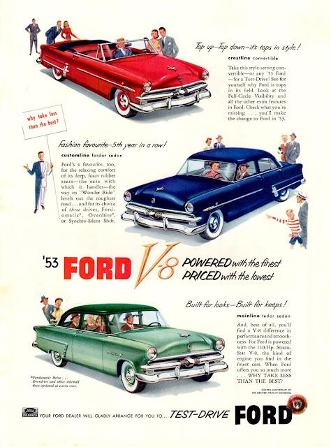 フォード・メインライン | Ford Mainline '52-56