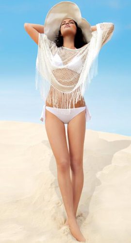 bikinis blanco