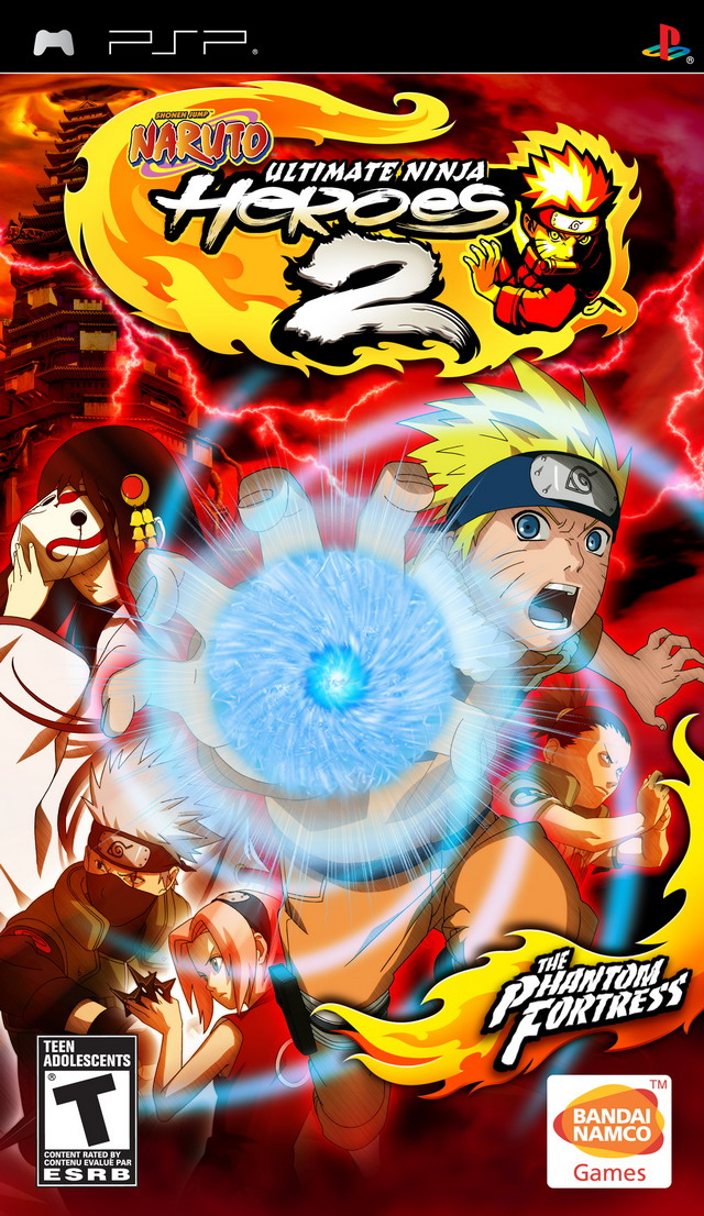 NARUTO ULTIMATE NINJA HEROES 2 THE PHANTOM FORTRESS PSP DOWNLOAD