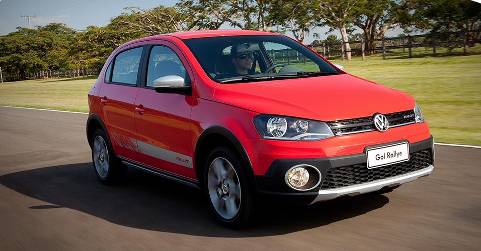 Carros Brazuca: Volkswagen Gol Track e Gol Rallye 2014
