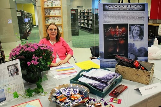 BOOK SIGNING / I so enjoy them.  Lots of children so the candy disappeared very fast.