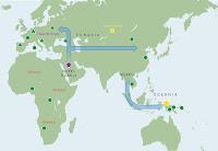 Mapa migraciones