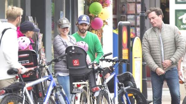 Swedish Royal Family Bike Trip In The Island Of Öland