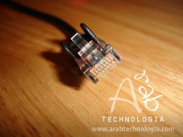 شرح صنع كيبل Crossover Cable لربط الشبكة
