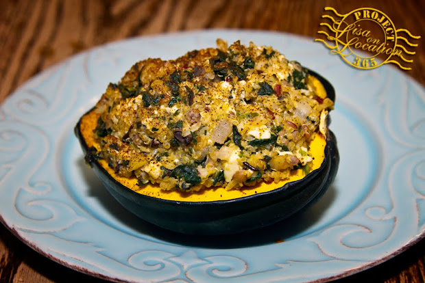 365 photo challenge, Lisa On Location photography, New Braunfels, Texas. Stuffed acorn squash