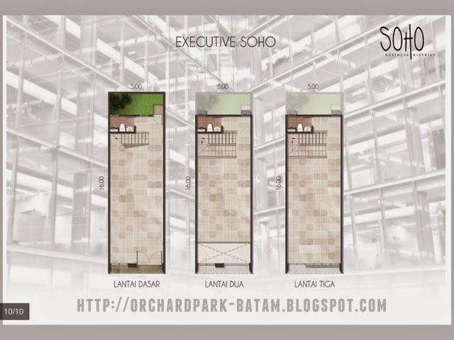 Tipe Executive SOHO Orchard Park Batam