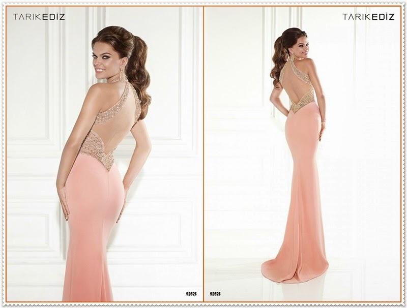 Tarik Ediz Frühjahr/Sommer 2015 Abendkleider Kollektion