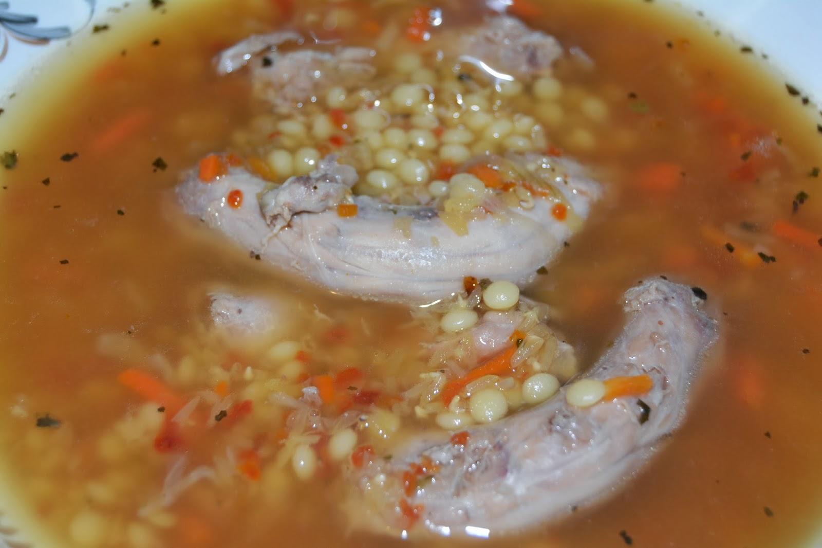 Суп из куриных сердечек фото пошагово