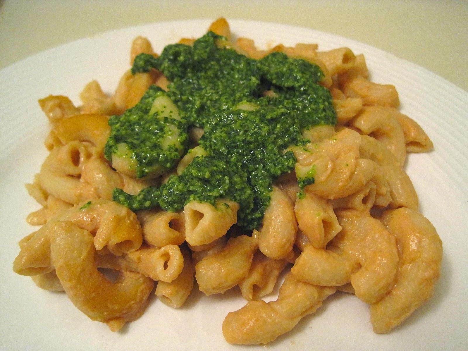 Pesto Mac 'N' Cheese - Chloe's Vegan Italian Kitchen - Veega Blog Vegan