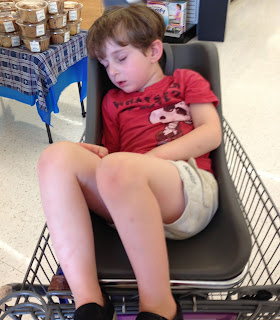 Caleb in the Cart