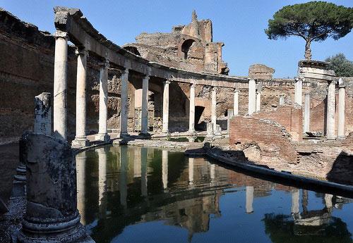 visite guidate x bambini Roma: Villa Adriana al Tramonto
