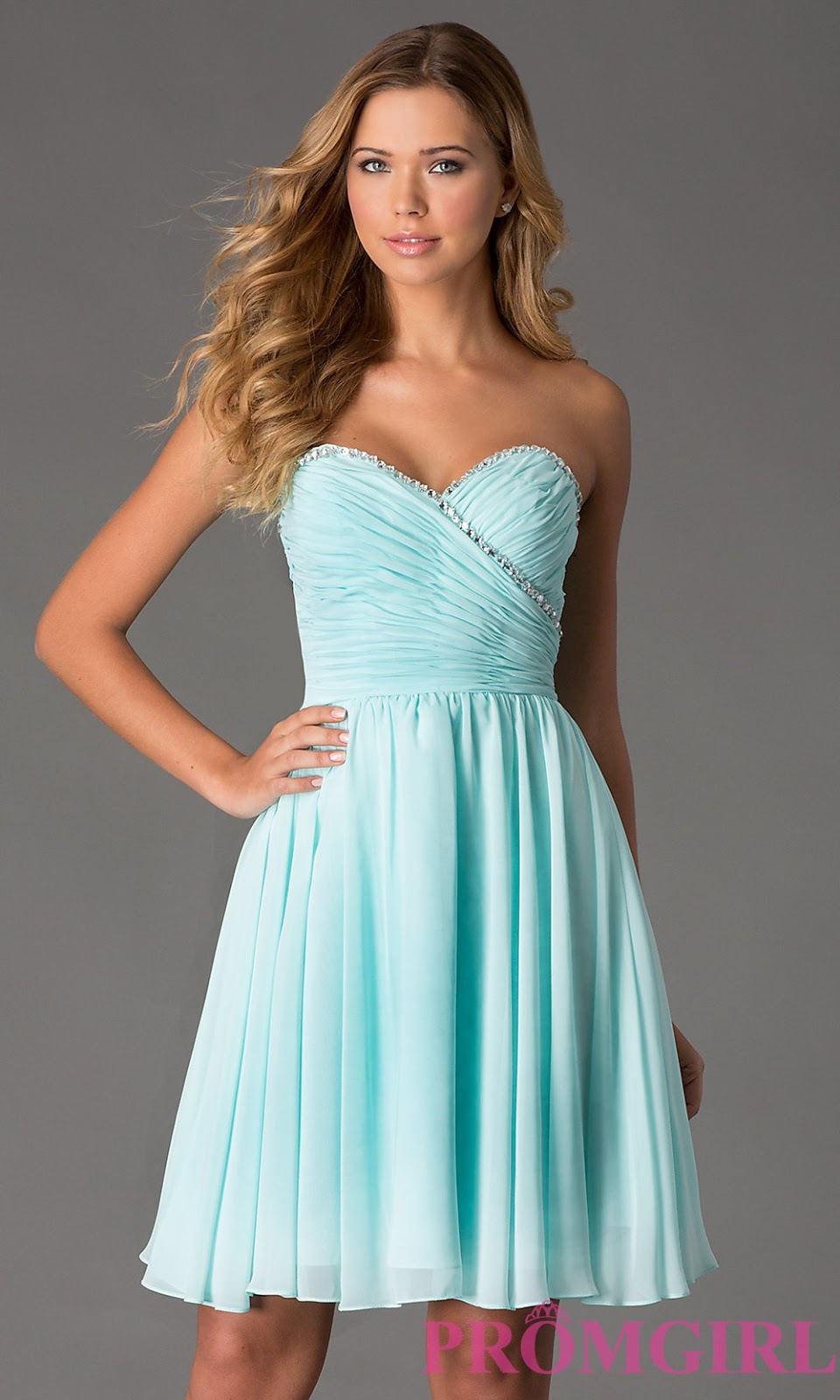 Most Popular Short Bridesmaid Dresses 2015