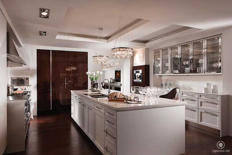 siematic hidden kitchen design by minosa design leicht kitchen through