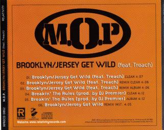 M.O.P. – Brooklyn-Jersey Get Wild (CDS) (1998) (160 kbps)