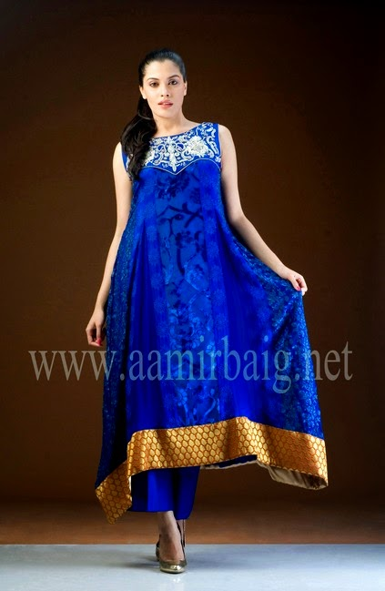 Aamir Baig Semi Formal Dress