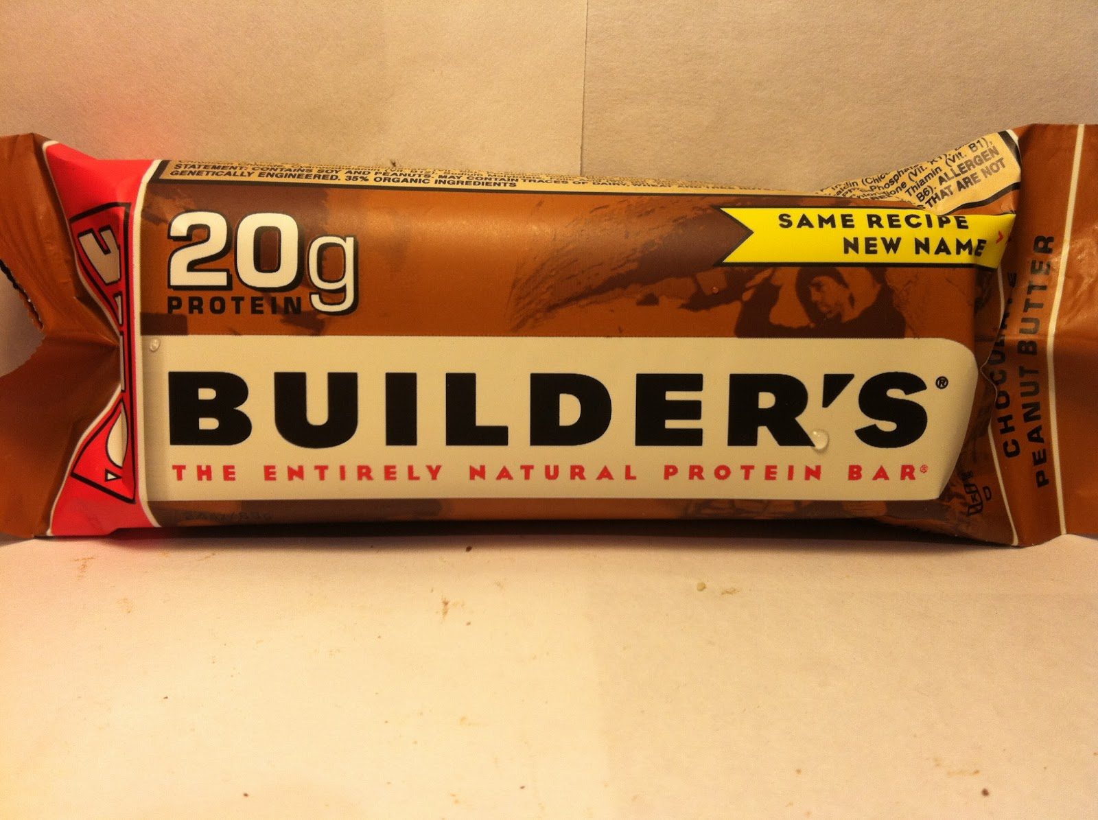 Clif Builder Bars Chocolate Peanut Butter