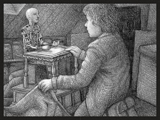illustration from The Invention of Hugo Cabret by Brian Selznick