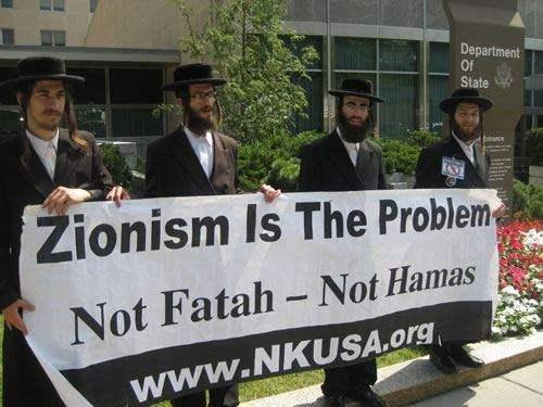 ZIONISM IS THE PROBLEM