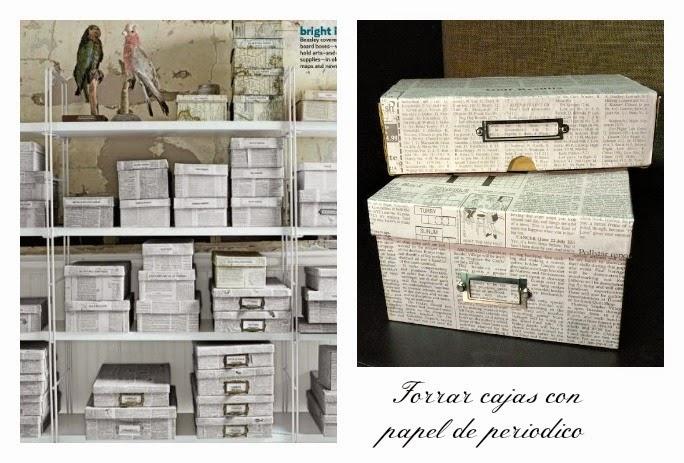Como forrar una caja de carton grande con papel imagui - Decorar cajas de madera con papel ...