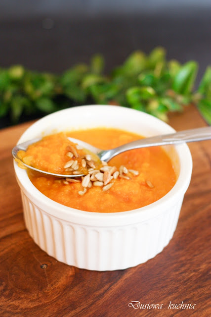 krem z marchwi, krem z marchewek, zupa krem marchwiona, zupa krem, krem marchewkowy, krem z marchwi i pomarańczy