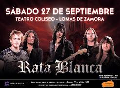 """RATA BLANCA EN EL """"TEATRO COLISEO"""" - 27/09/2014"""