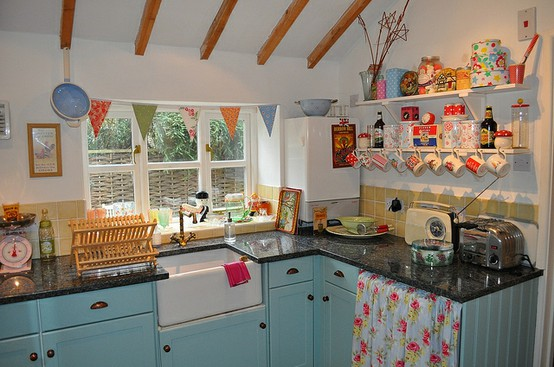 Sugar and spice: kitchens tra shabby chic a cottage style