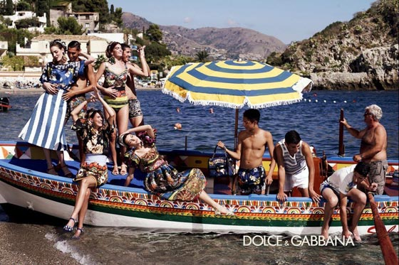 Dolce Gabbana spring 2013 ad campaign