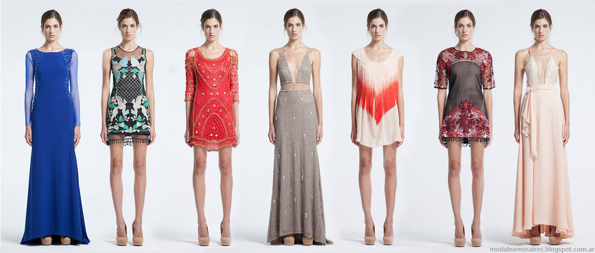 Vestidos para fiesta de dia otono 2015