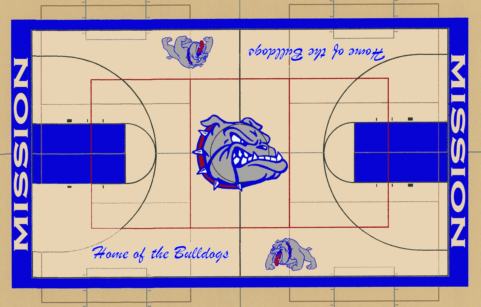 High School Gym Floor Designs Images Frompo 1