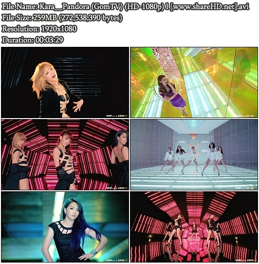 Download MV Kara () - Pandora () (GomTV Full HD 1080p)