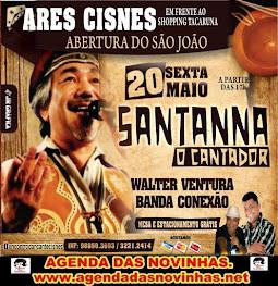 """ARES CISNES - SANTANNA """"O CANTADOR""""."""