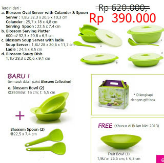 TUPPERWARE AKU MURAH