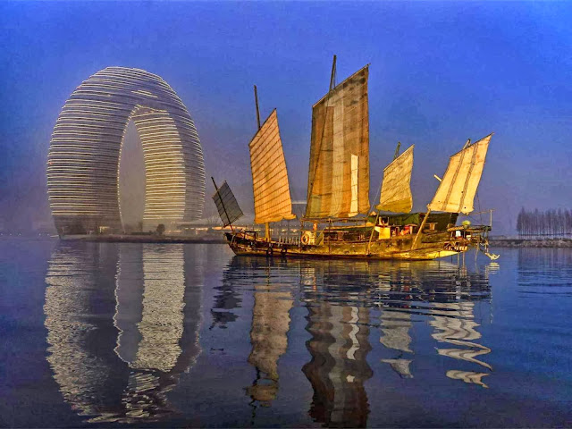 02-Sheraton-Huzhou-Hot-Spring-Resort-by-MAD-Architects
