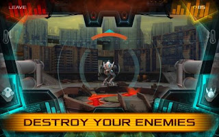 Screenshots of the Mechs warfare for Android tablet, phone.