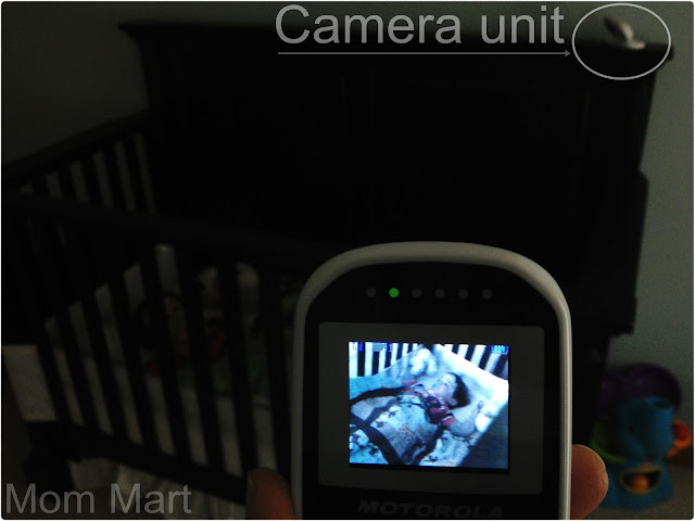 Motorola MBP18 Digital Wireless Video Baby Monitor Display
