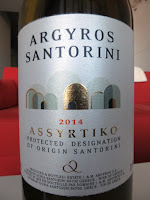 Argyros Assyrtiko 2014 from PDO Santorini, Greece (90 pts)