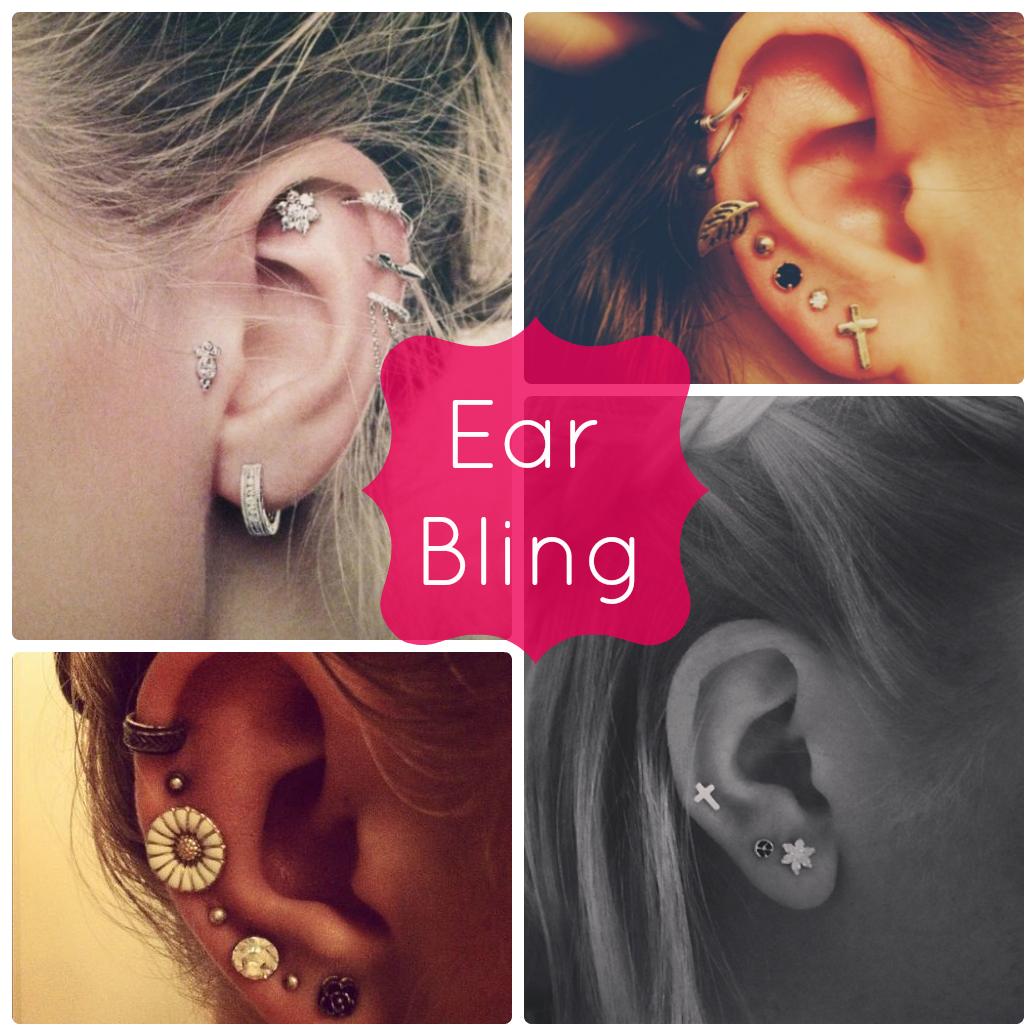 De carona na moda!: Trend: Ear Bling