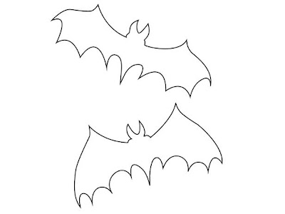 Free Printable Halloween Bat Template