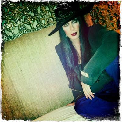Cher's displays her make-up skills